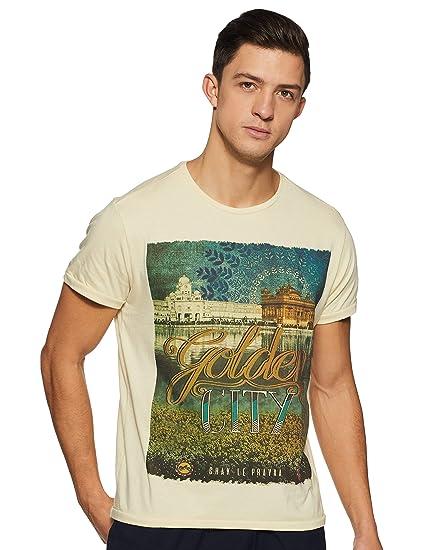 c9d0000c69 Solly Jeans co Men s T-Shirt (8907587857503 ALKC517J04392 Off White S)