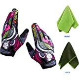 SZDUDU Cycling gloves,Warm gloves,Sports gloves,Men Women Universal(Size for adults Not suitable for children)