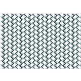 Sizzix, Multi Color, Embossing Folder 661261, Woven by Lynda Kanase, One Size