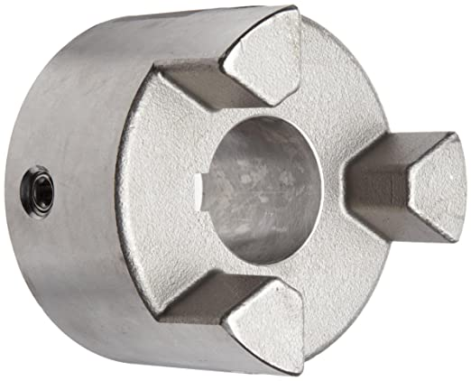 Lovejoy 69790445512 HERCUFLEX FX Series 45512 FX 5.5SM Steel Rigid Hub 6.91 Length Through Bore 11.28 OD 4-7//8 Bore 1-1//4 x 5//8 Keyway