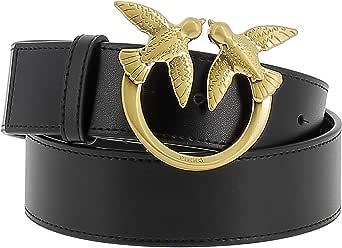 Pinko LOVE BERRY 1 SIMPLY cintura con fibbia Love Birds da donna black,1H20WJ-Y6XF