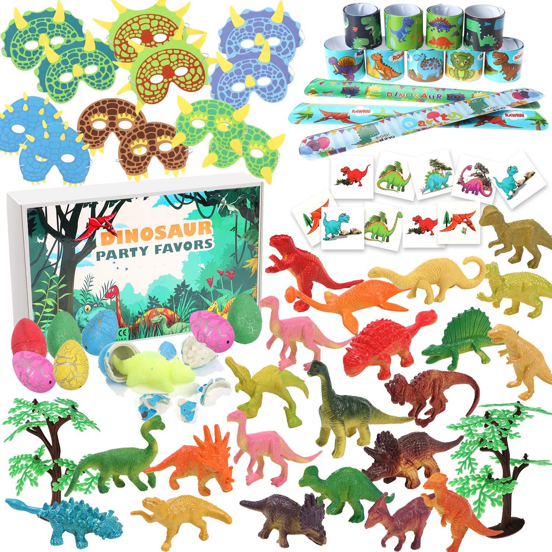 Tacobear 102 Dinosaurios Fiesta Juguetes Huevo Dinosaurio Agua Figuras Dinosaurios Mascaras Slap Pulsera Dinosaurios Tatuaje Pegatina para Niños ...