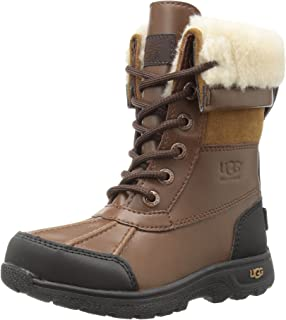 7aad947fb38 UGG Kids K BUTTE II CAMO Lace-Up Boots: Amazon.ca: Shoes & Handbags