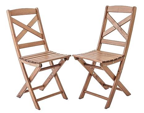 Ambientehome Java Exclusiv Lotta - Juego de 2 sillas ...