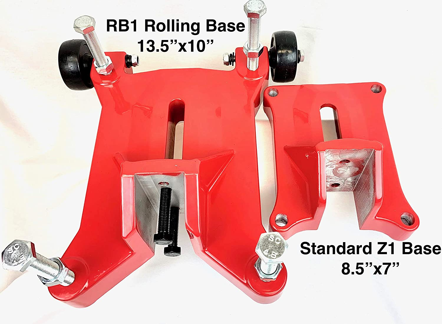 BLUEROCK RB1 RB1 Rolling Base Upgrade for 4 Z1WS 10 Z1 Concrete Core Drill Stand 8 Z1