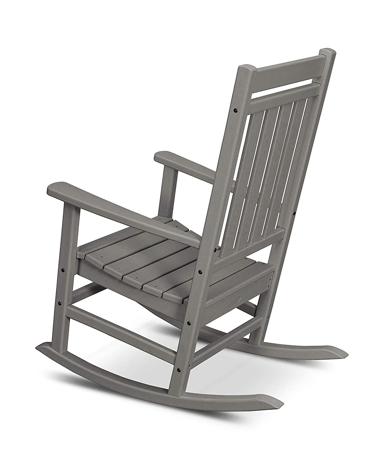 POLYWOOD Plantation Rocker, Black