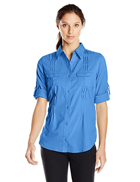 7254b095058 Amazon.com   Columbia Sportswear Women s Sun Goddess II Long Sleeve ...