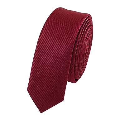 Fabio Farini Étroit Cravate de en rouge 3cm Largeur  Amazon.fr ... 21963980217