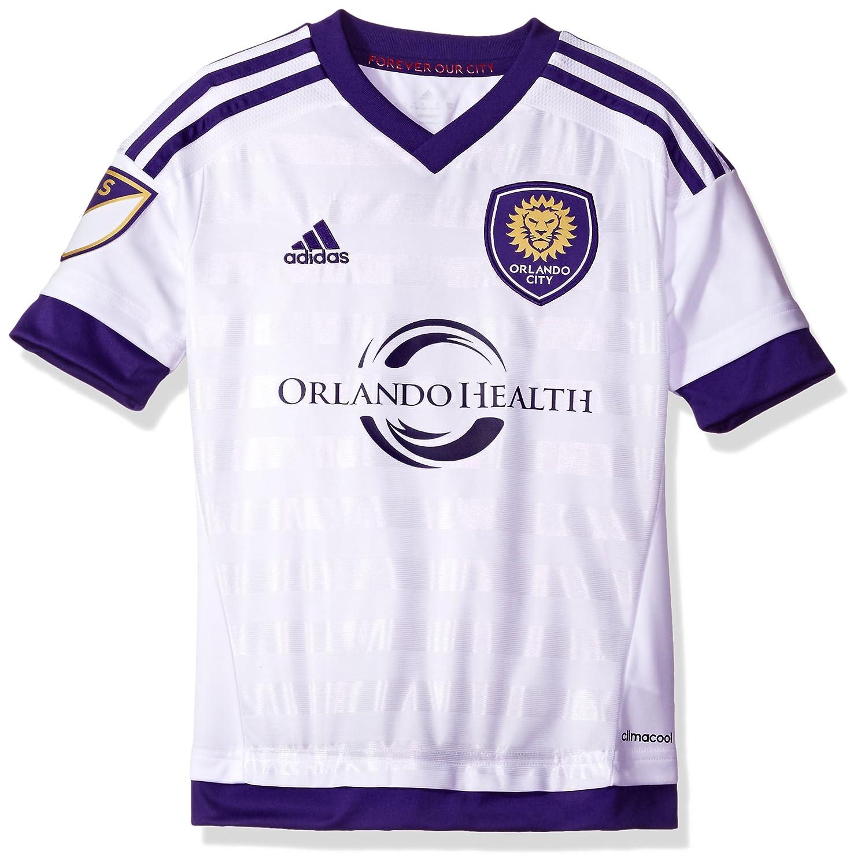 9c6aefe47a4 Amazon.com   MLS Orlando City SC Boys Youth Replica Short Sleeve Jersey
