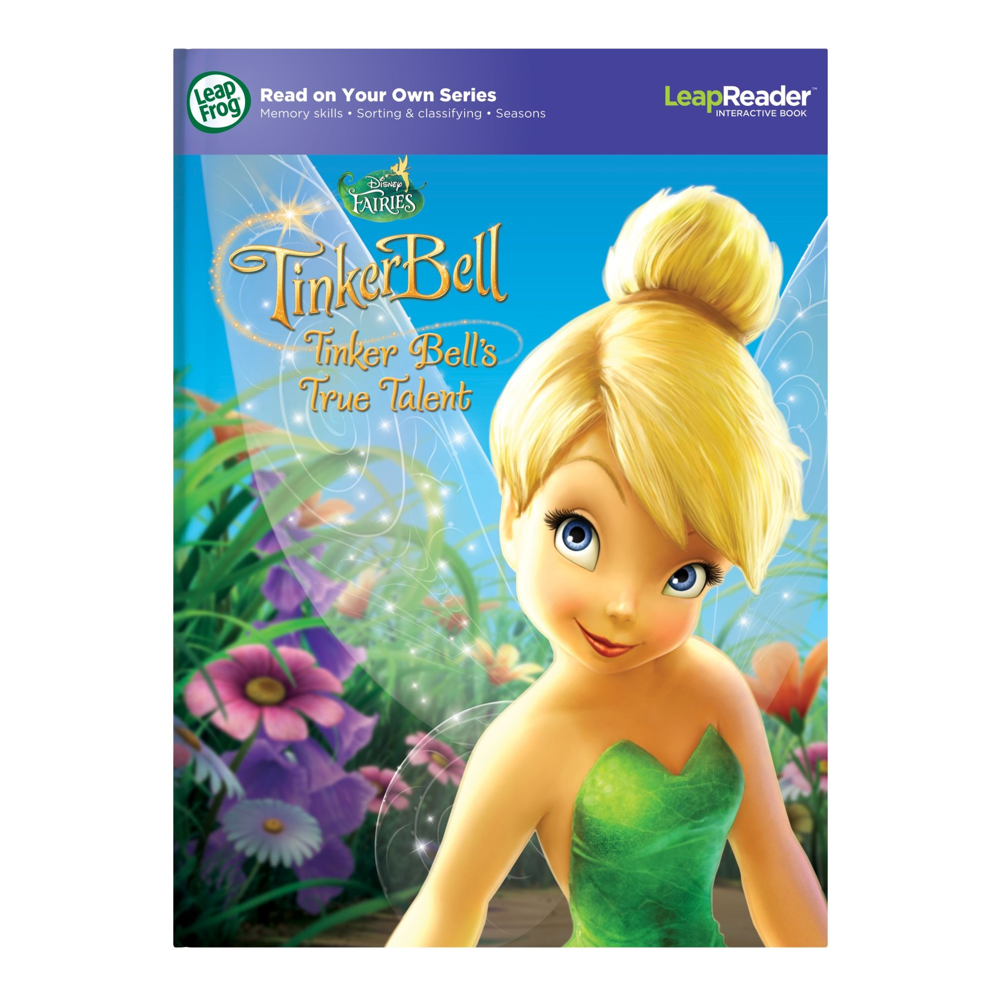 LeapFrog LeapReader Book: Disney Fairies Tinker Bell's True Talent (works with Tag) by LeapFrog (Image #8)