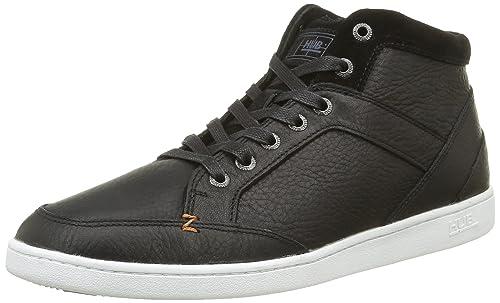 0245fe2bbaf6 Hub Men s Firm L30 Low-Top Sneakers Black Size  7