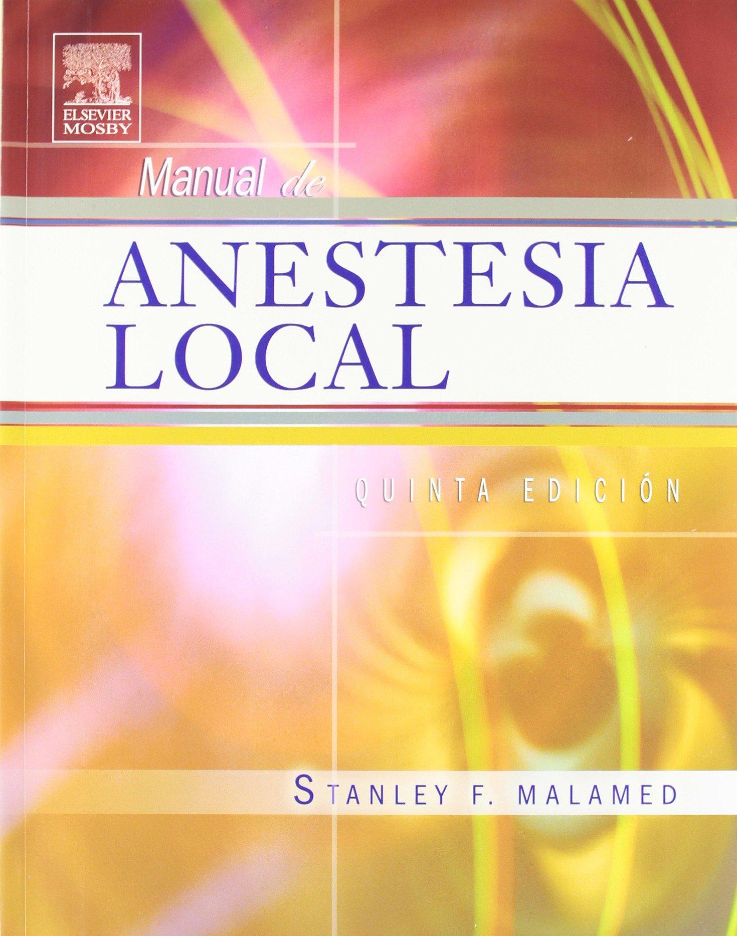manual de anestesia local stanley malamed pdf gratis