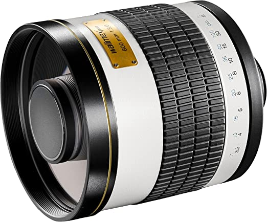 Walimex Pro 800mm 1 8 0 Csc Spiegelobjektiv Für Canon M Kamera