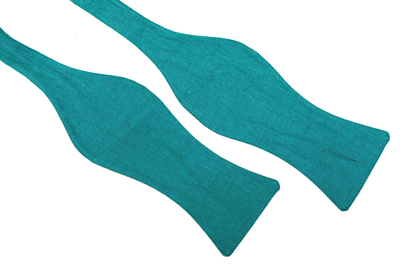 Fliege t/ürkis//Schleife zum Selbstbinden Selbstbinder Handgen/ähte Herren Anzug Querbinder: Verde mare