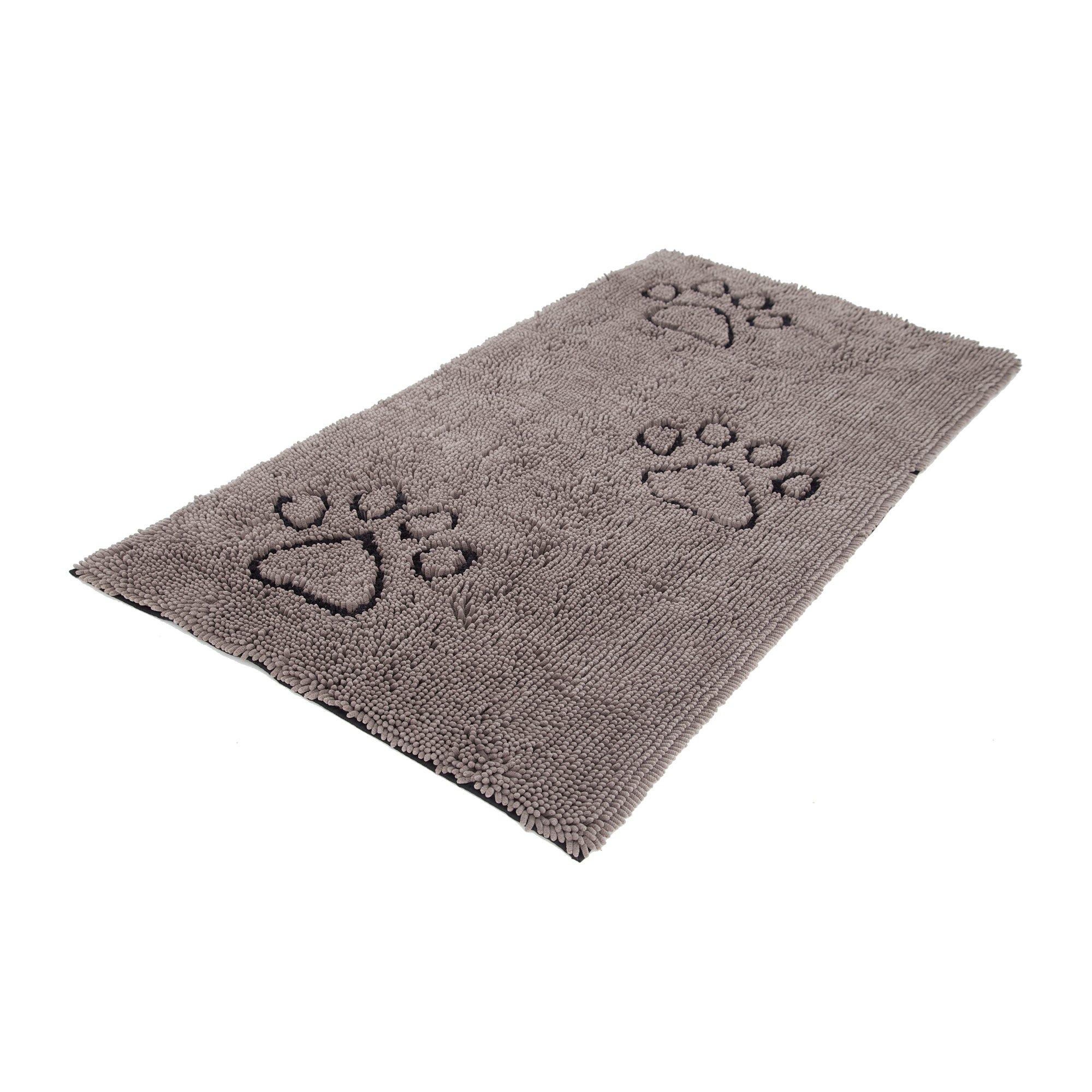 Dog Gone Smart Dirty Dog Doormat , Runner, Grey