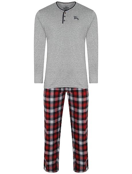 Tokyo Laundry - Pijama - Asimétrico - para hombre gris gris claro 41-44.5