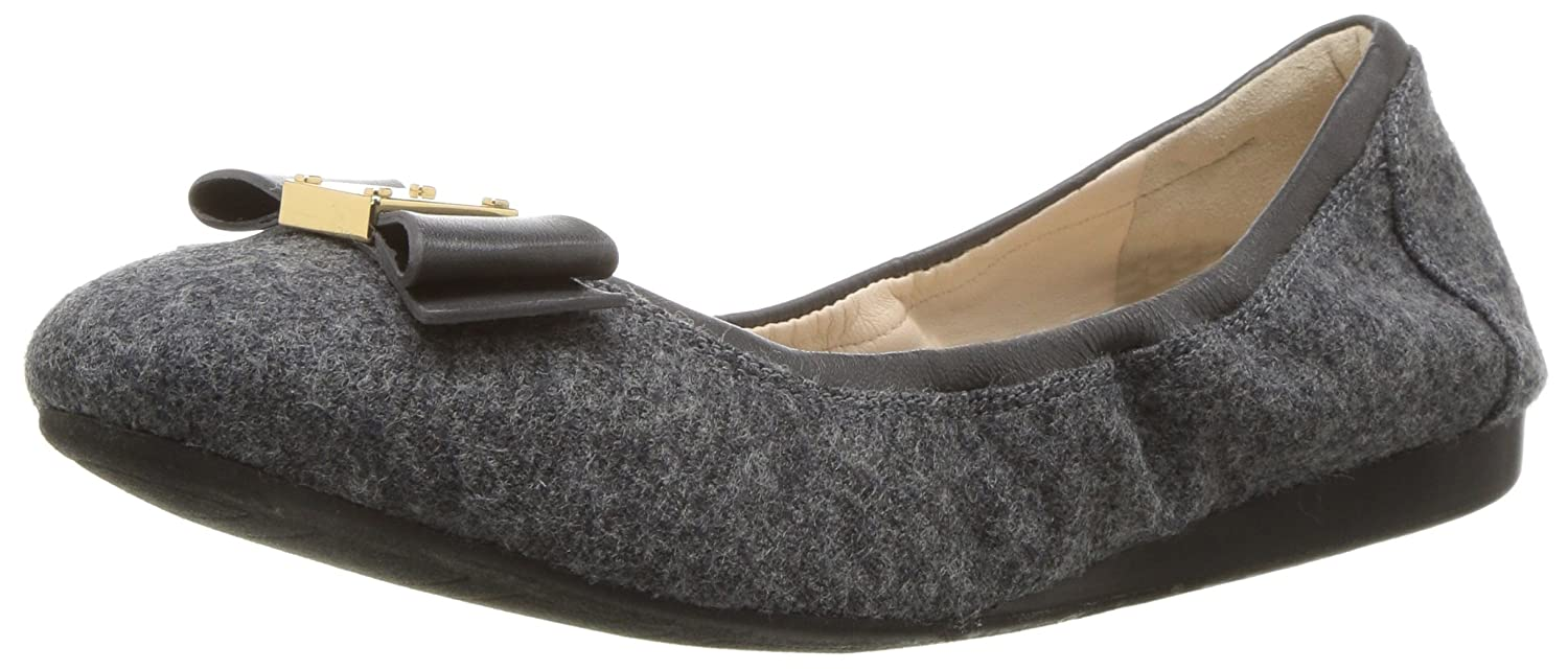 Cole Haan Women's Tali Bow Ballet Flat B06VY5NQW8 10.5 2A US|Flannel