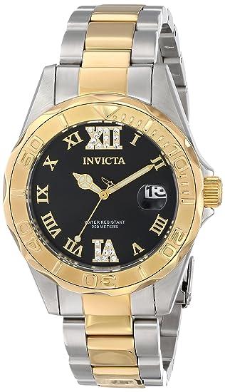 Invicta Pro Diver Reloj de mujer cuarzo correa y caja de acero 14352
