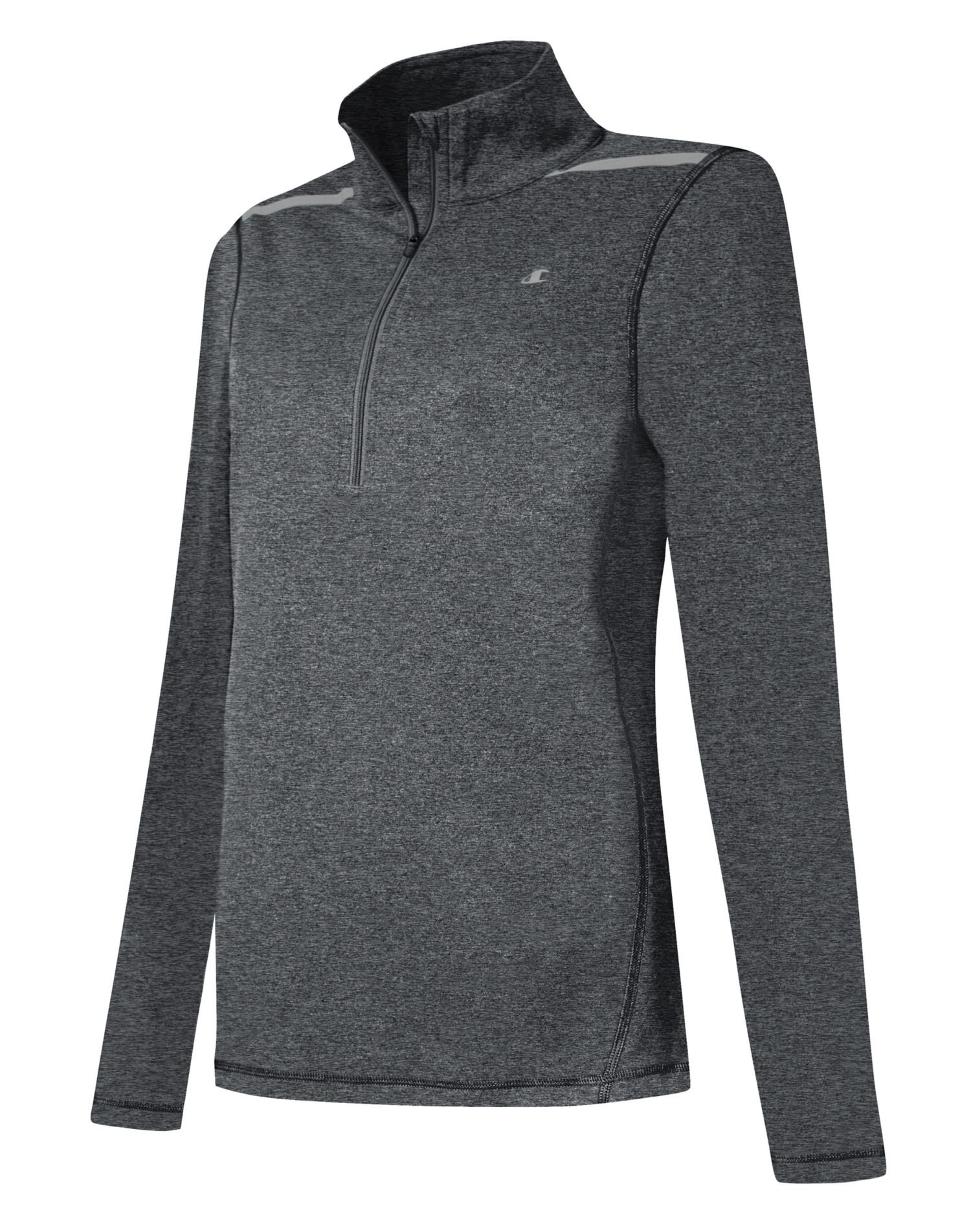 Champion Women`s Gear Marathon 1/4 Zip Long-Sleeve Top, W0548T, XS