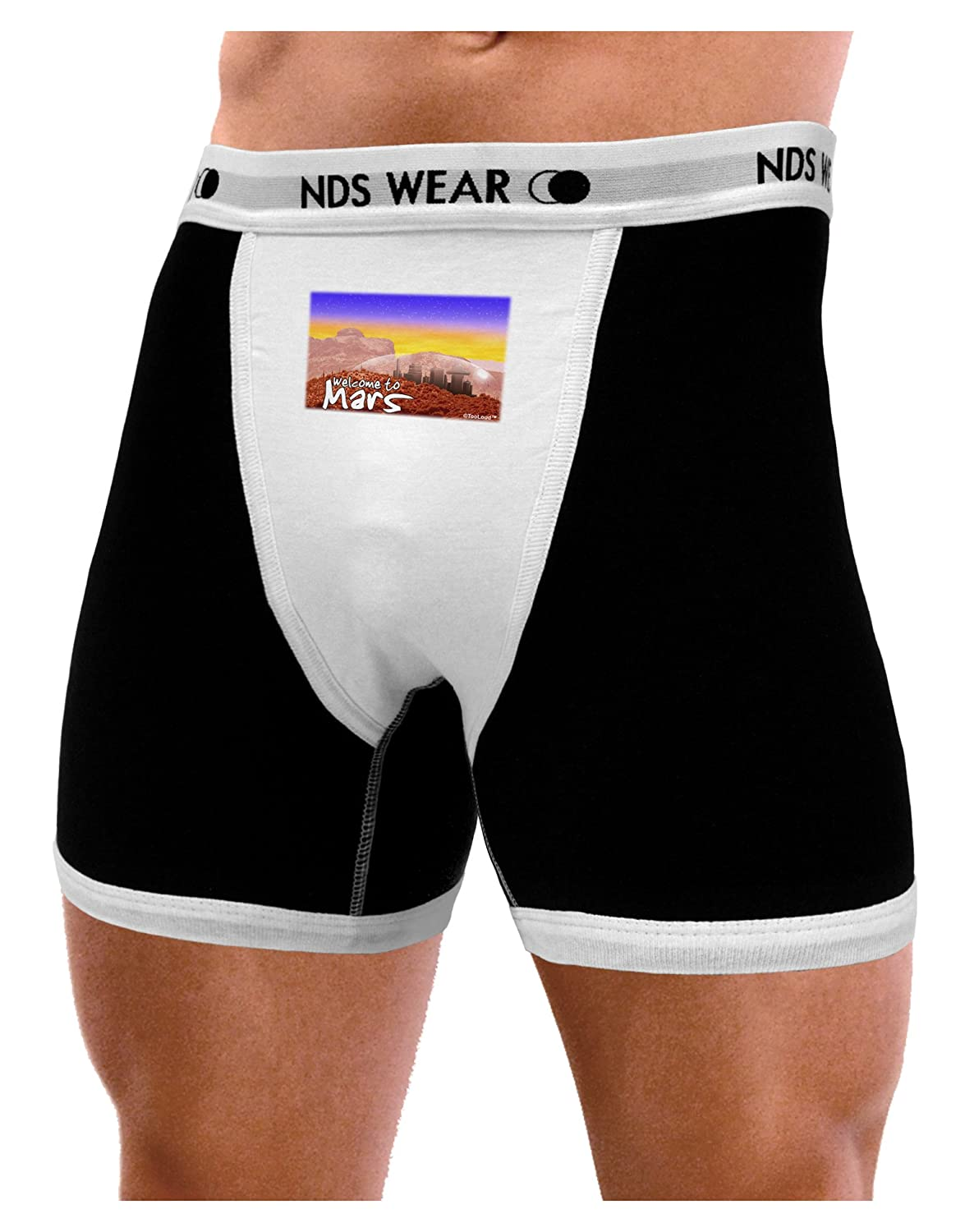 NDS Wear TooLoud Welcome to Mars Mens Boxer Brief Underwear