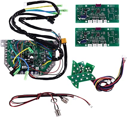 Green Main Scooter Motherboard Replacement Circuit Board Parts Kit For Balance S