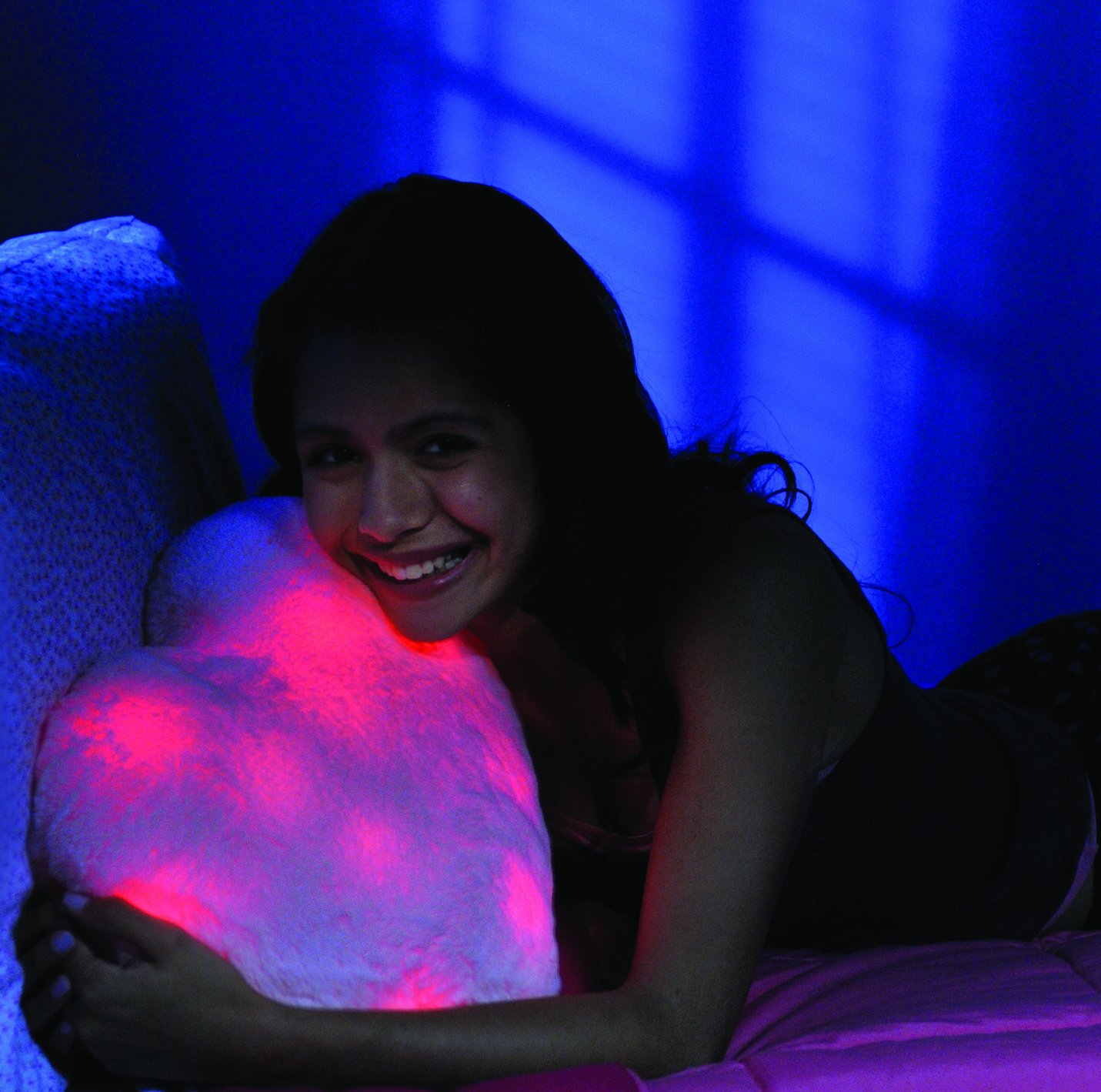 Amazon.com: Bright Light Pillow Beating Heart, Pink: Toys ...