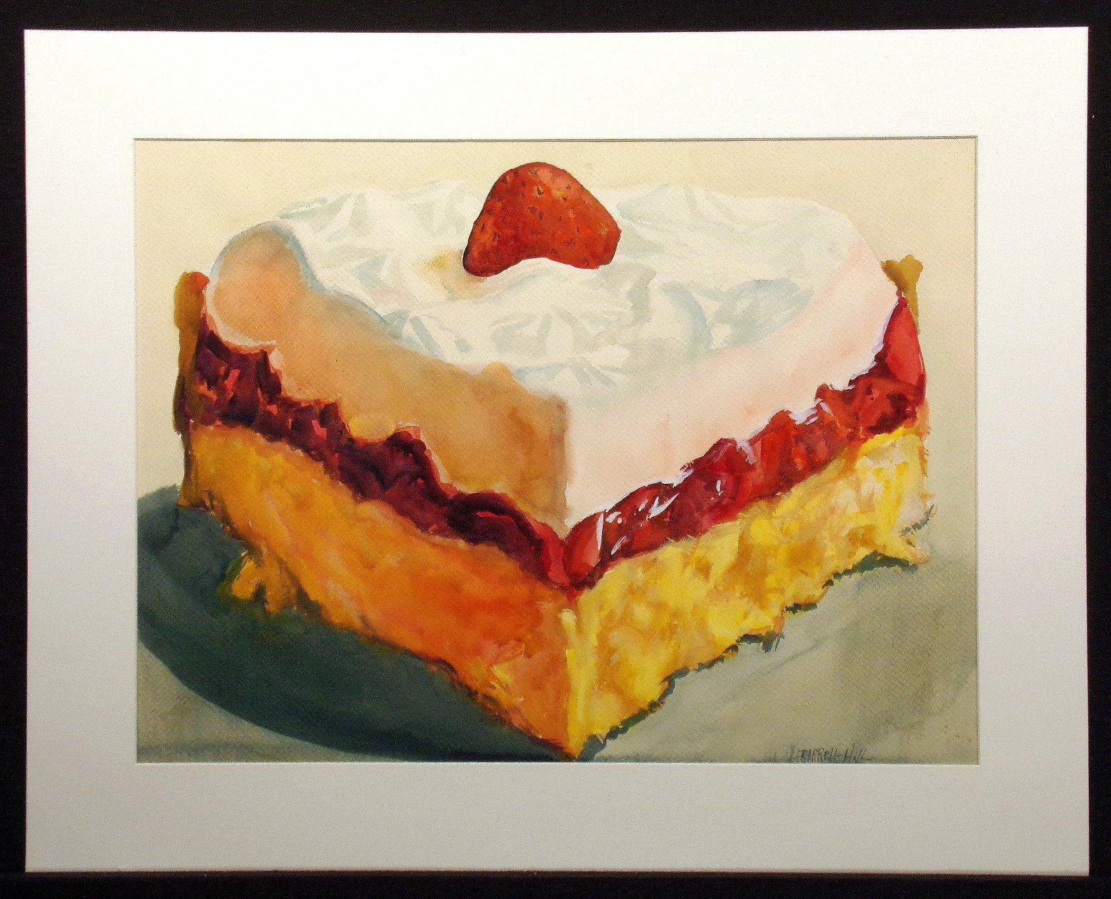Frozen Strawberry Shortcake by