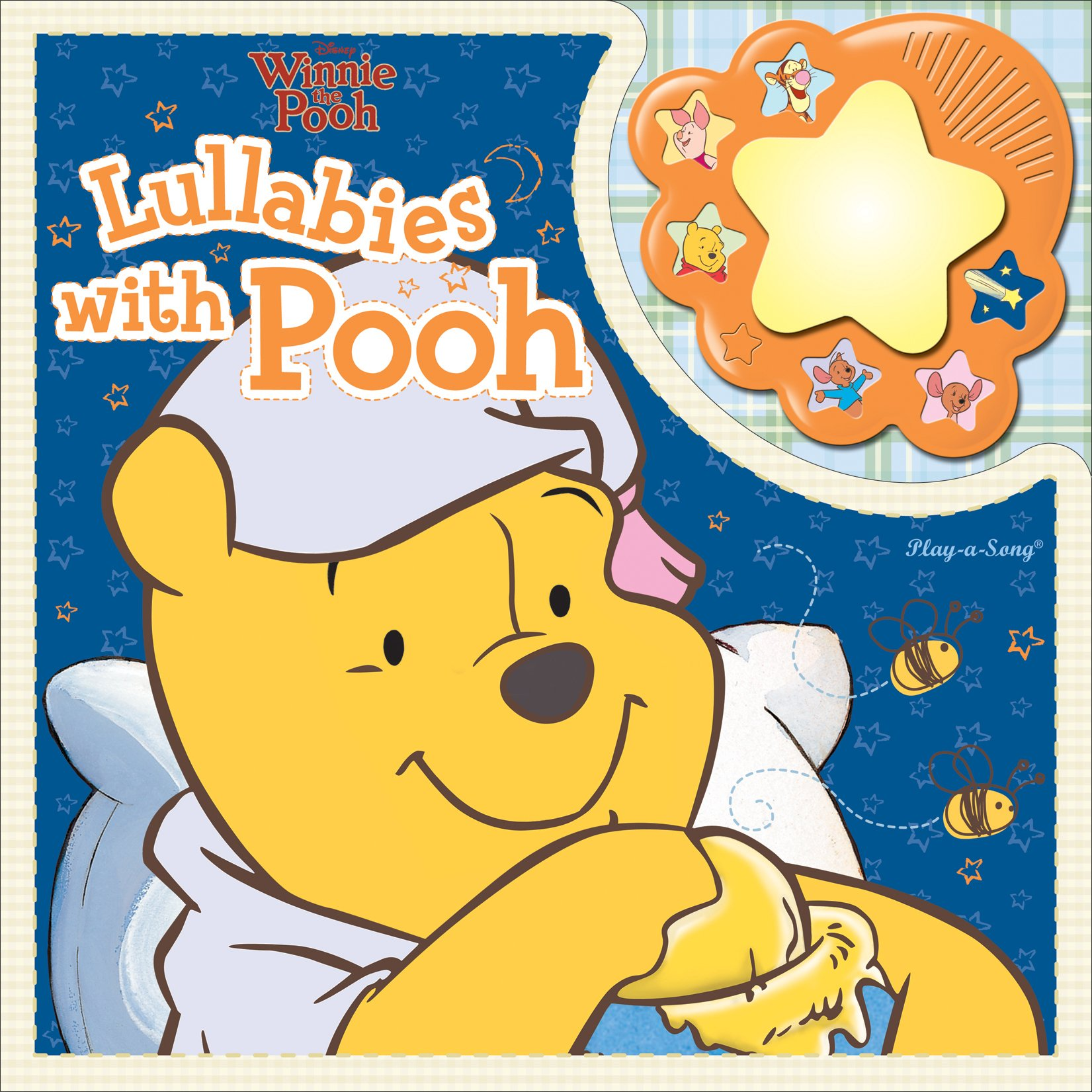 0bf6a83be18d5 Winnie the Pooh  Lullabies with Pooh (Nightlight Songs Book) Board book –  January 15