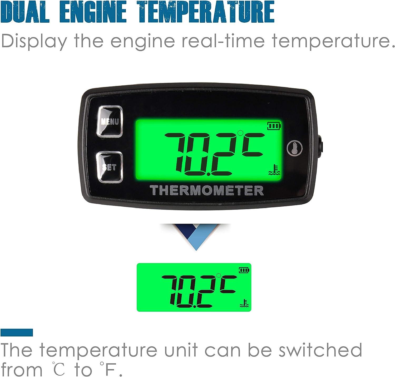 Temperaturanzeige Mit Temperatursensor Für Zylinderkopf 20 C 300 C Auto