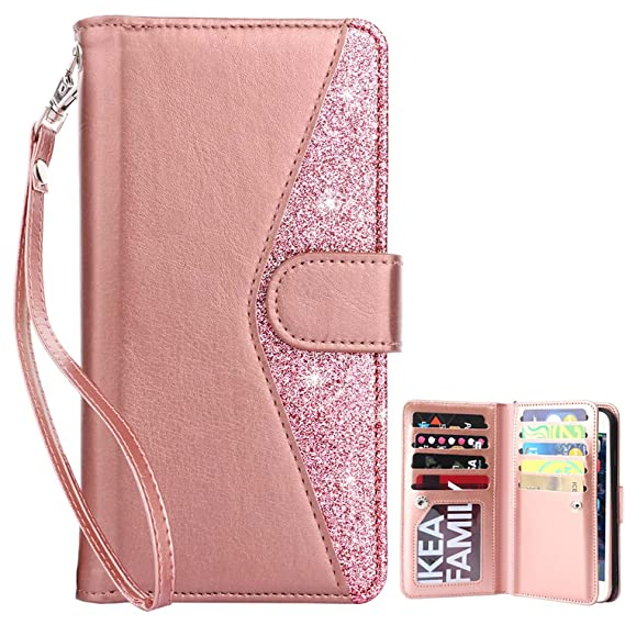 finest selection 67ab6 d4e75 Dailylux iPhone 5S Cases,iPhone SE Case,iPhone 5 Wallet Case Pu Leather  +TPU Magnet Wallet Flip Case with Built-in Card Slots Stand Holder Folio  Cover ...