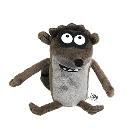 Image Unavailable. Image not available for. Color  Regular Show Pullstring  Rigby 10 quot  Plush 88f1f4e55