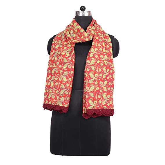 New Women's Multicoloured Block Pattern Cotton Shawl Scarf