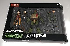 DC Collectibles Batman VS TMNT - Robin & Raphael