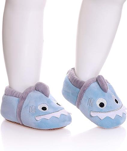 For 6-24 Months Baby Kids Girl Boy Anti-Slip Slipper Toddler Shoes Socks Unisex
