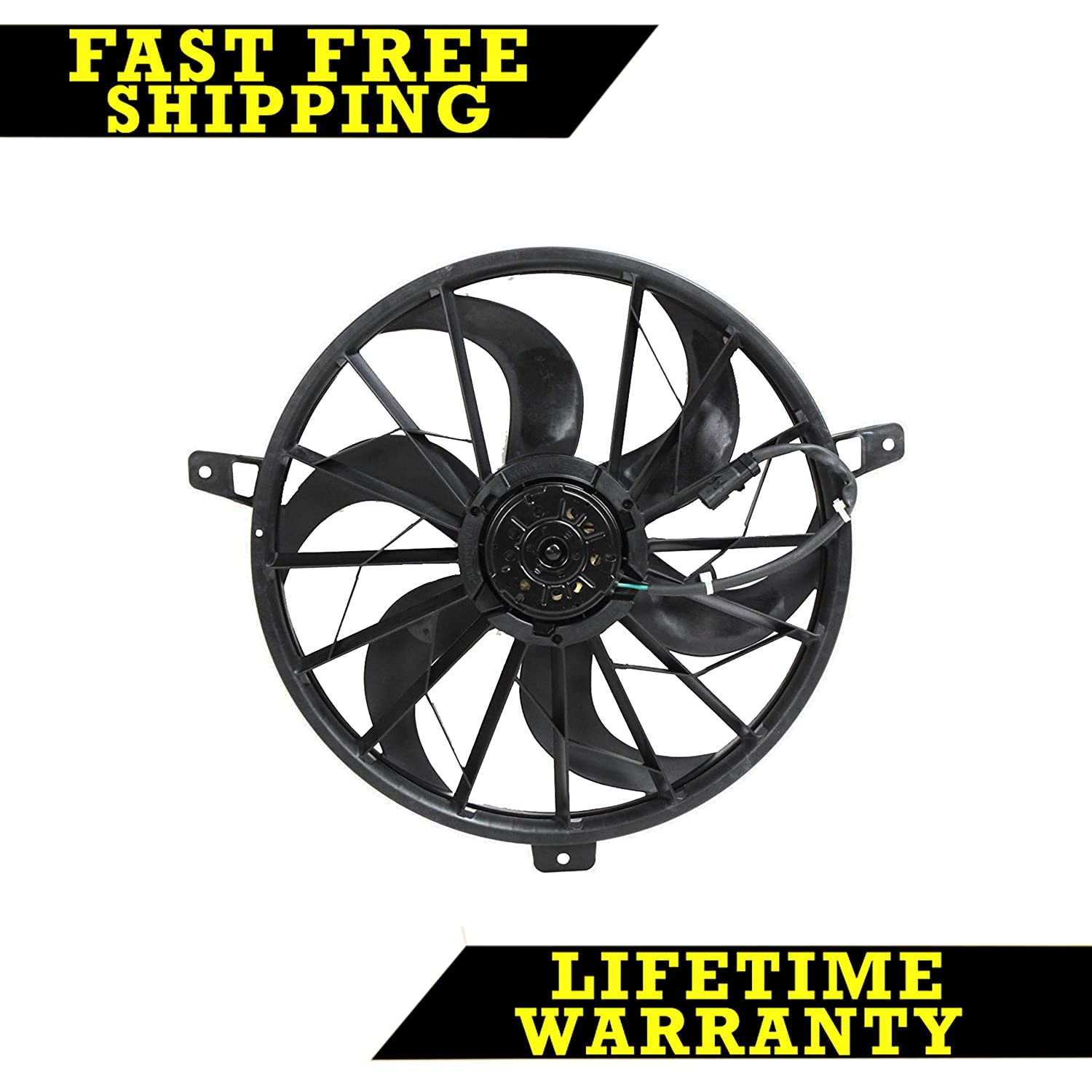 RADIATOR COOLING FAN FOR JEEP FITS GRAND CHEROKEE LIBERTY CH3116115 Sunbelt Radiators