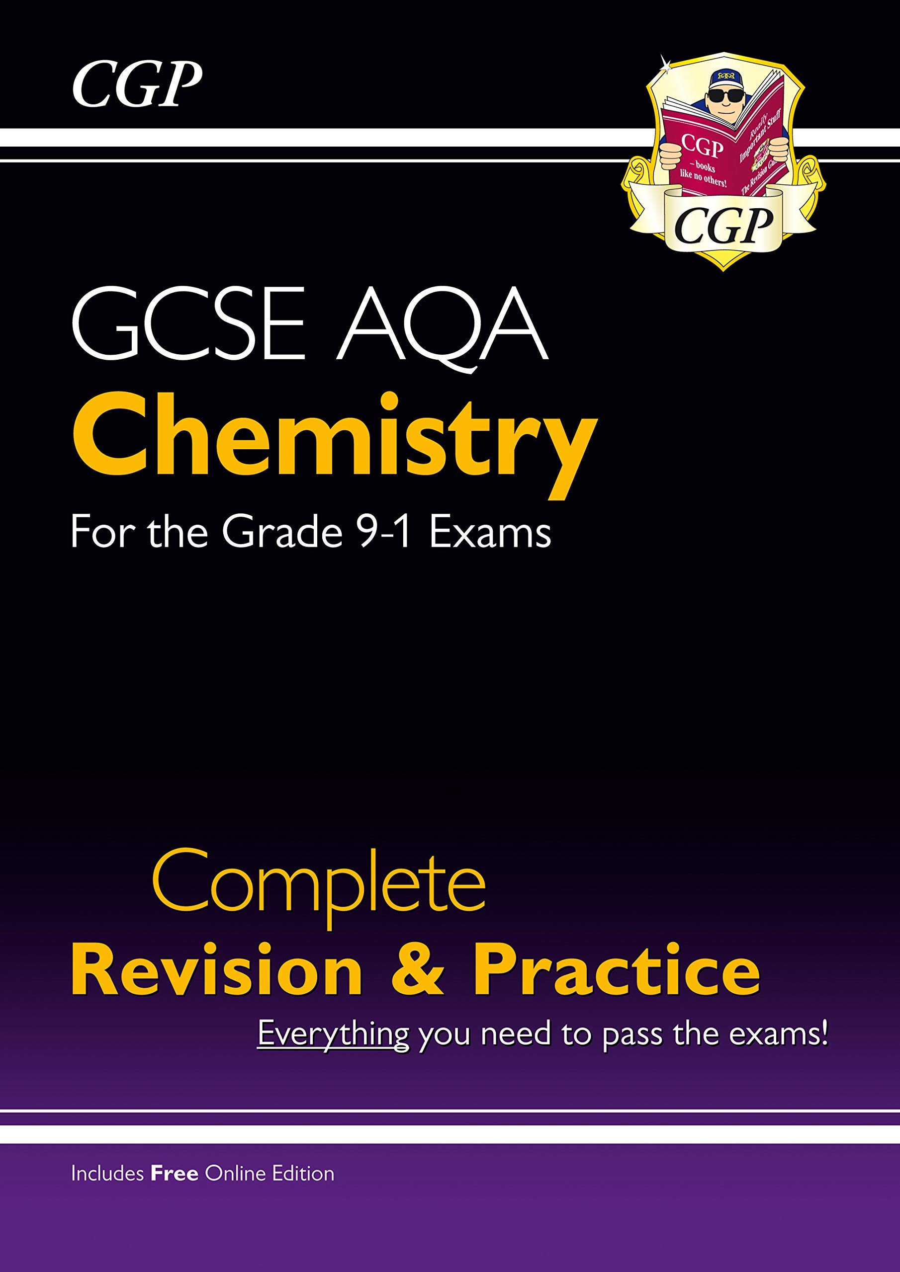 Grade 9-1 GCSE Chemistry AQA Complete Revision & Practice
