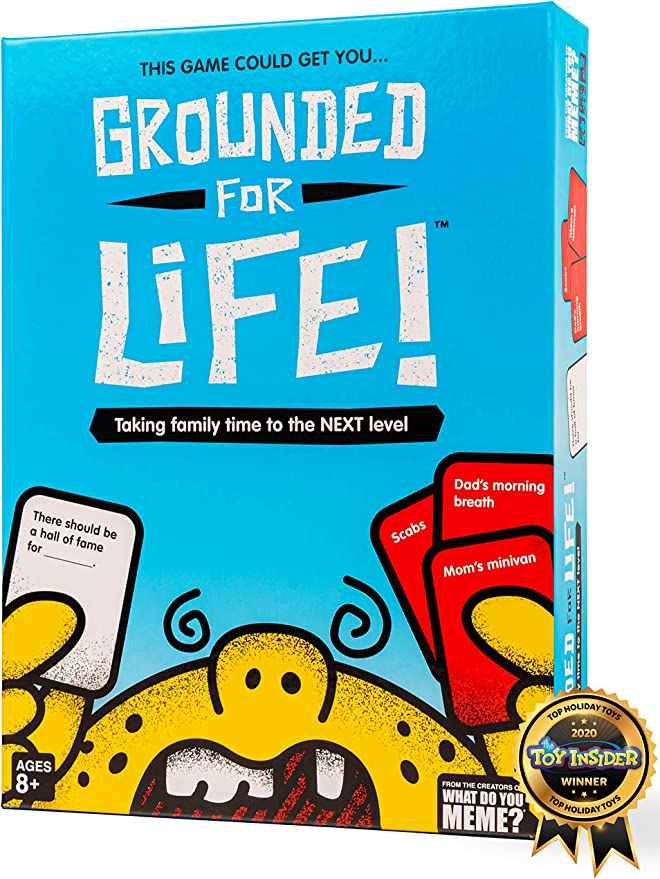 Amazon.com: Grounded for Life - The Ultimate Family Game - by What Do You Meme? Family: Toys & Games