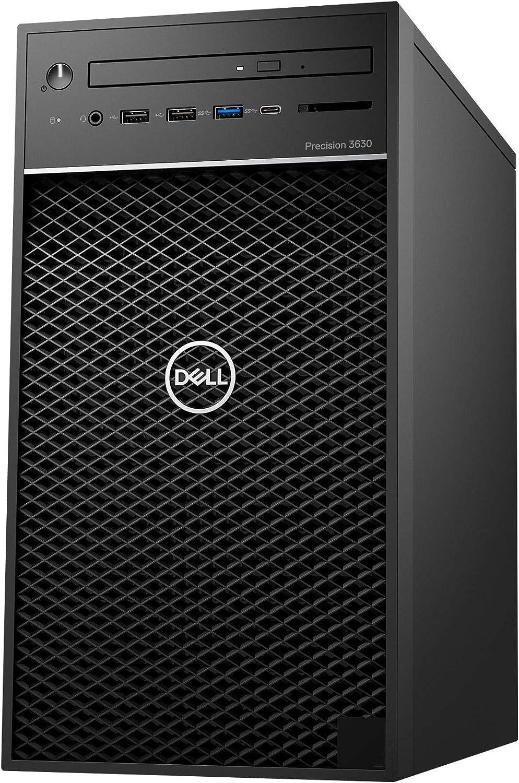 Dell 467DG Dell Precision 3630 Desktop Workstation with Intel Core i7-8700K Hexa-core 3.7 GHz, 16GB RAM, 512GB SSD, Black (Renewed)