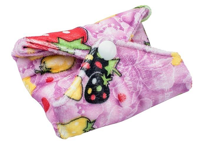 Compresas reutilizables | 4 salvaslip tela muy absorbentes | toallas femeninas de tela menstruación: Amazon.es: Salud y cuidado personal