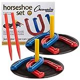 Amazon Price History for:Champion Sports. Rubber Horseshoe Set