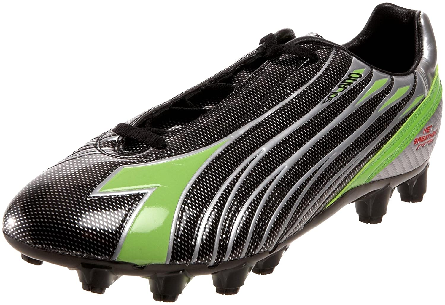 Diadora メンズ B004U8PP4Y 8 D(M) US|Black/Metal/Green Black/Metal/Green 8 D(M) US