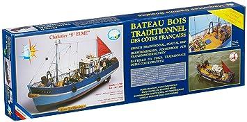Soclaine Saint Elme - Maqueta de barco velero: Amazon.es ...