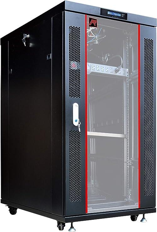 "Sysracks 18U 18/"" Deep Wall Mount IT Network Server Rack Cabinet Enclosure New"