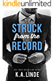 Struck from the Record (English Edition)