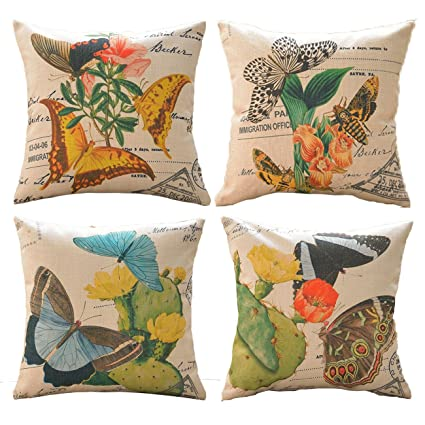 Attrayant Sykting Throw Pillow Covers Decorative Cushion Covers Sofa Pillowcase  18u0026quot;x 18u0026quot; Set Of