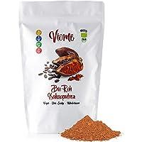 Viome Bio Roh Kakaopulver, ohne Zucker, stark entölt, 1kg (1000g)