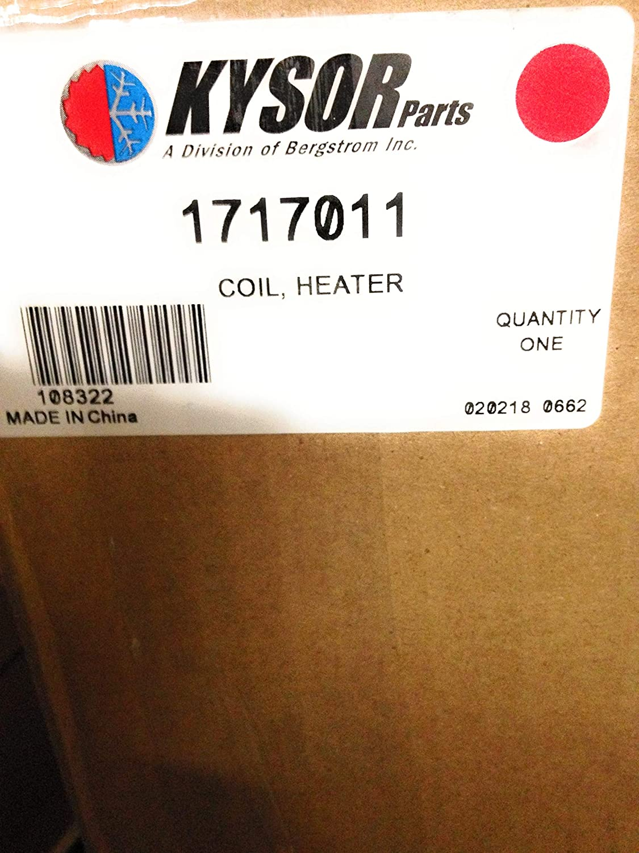 1717011 Kysor//Bergstrom Heater Core 108322BSM