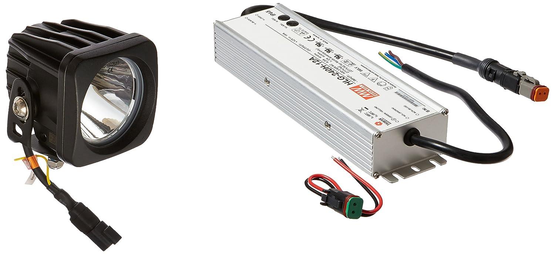 LED Spot Fahnenmast Licht – 10 Watt LED – 120/277VAC 50/60Hz (-10 ° Spot)