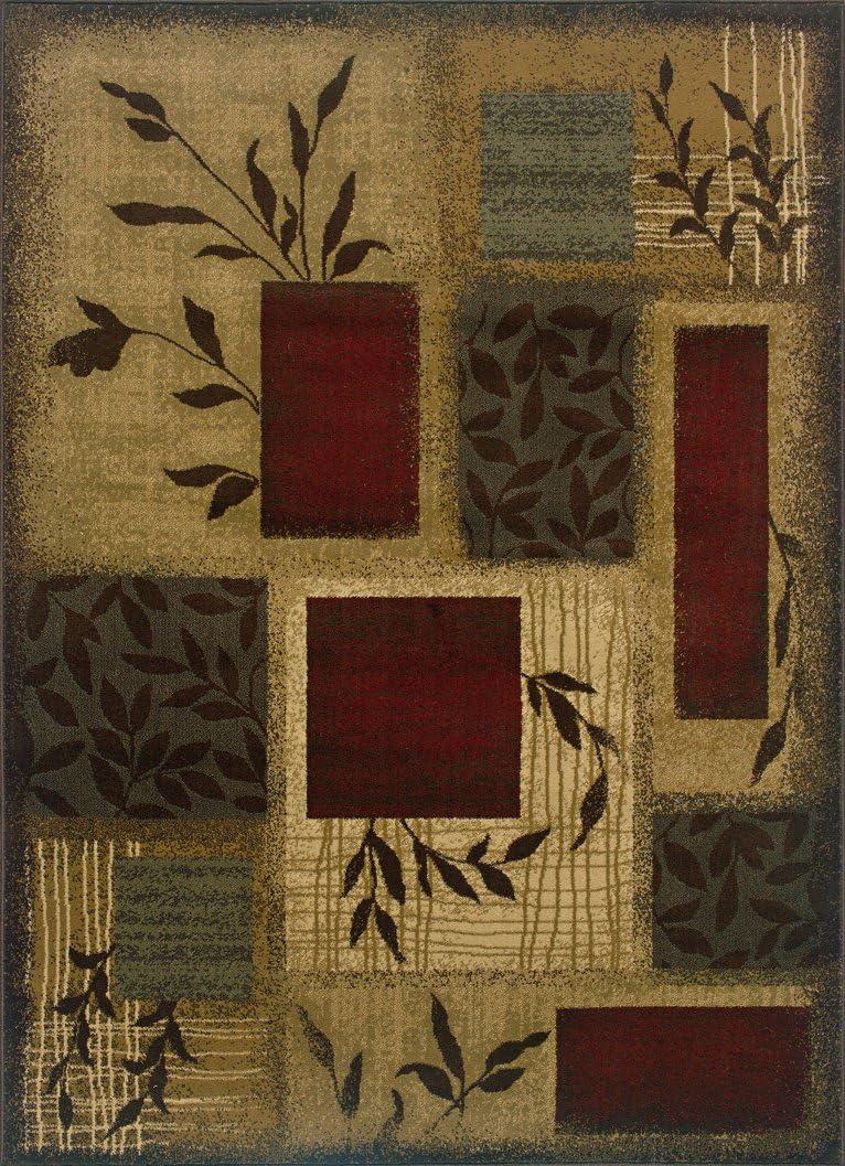 Oriental Weavers Amelia 260X Area Rug, 8-Feet 2-Inch by 10-Feet