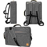 "Vangoddy Slate Gray 10"" to 12-Inch Convertible Laptop Bag for Samsung Galaxy Book, Chromebook, Galaxy Tab"